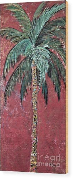 Longboat Key Palm Wood Print
