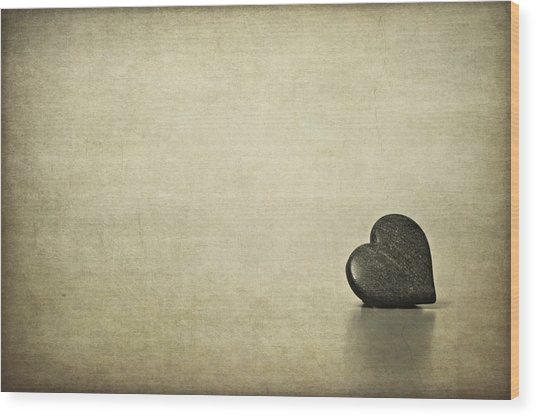 Longing Wood Print