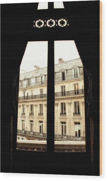 Looking Out Wood Print by Cabral Stock