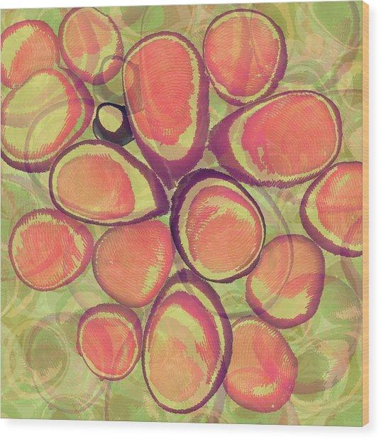 Loopy Dots #13 Wood Print