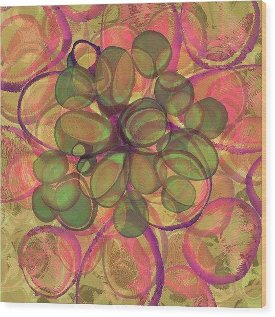 Loopy Dots #20 Wood Print