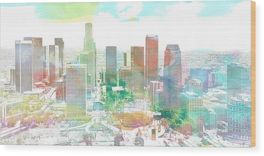 Los Angeles, California, United States Wood Print