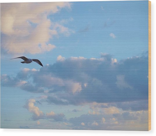 Lose Yourself In Nature And Find Peace. Wood Print