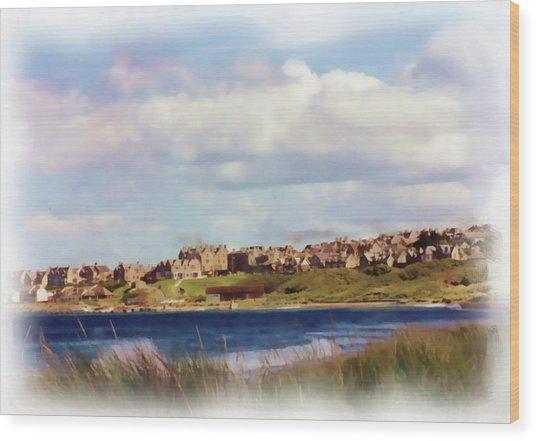 Lossiemouth Bay Wood Print