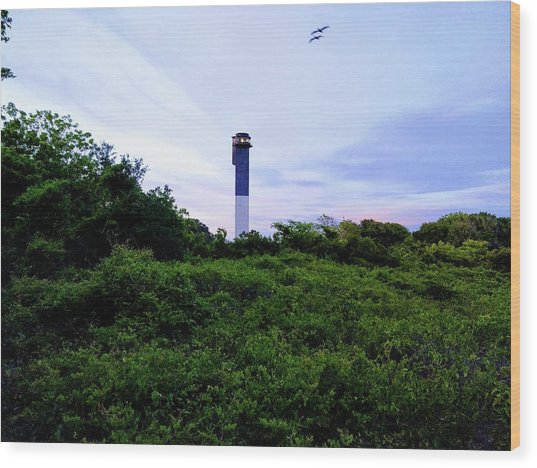 Lost Lighthouse Wood Print