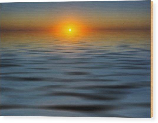 Lost Sun Wood Print