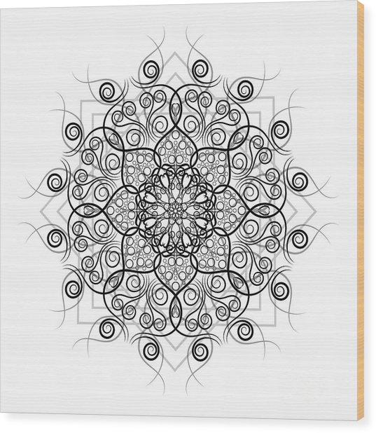 Lotus #1 Wood Print