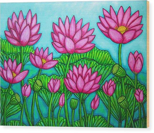 Lotus Bliss II Wood Print