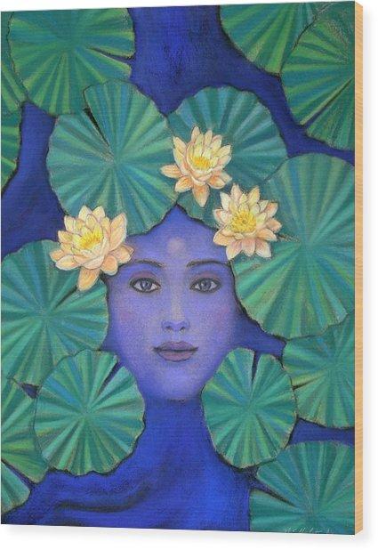 Lotus Nature Wood Print