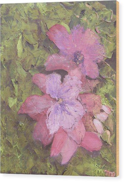 Louisiana Spring Wood Print