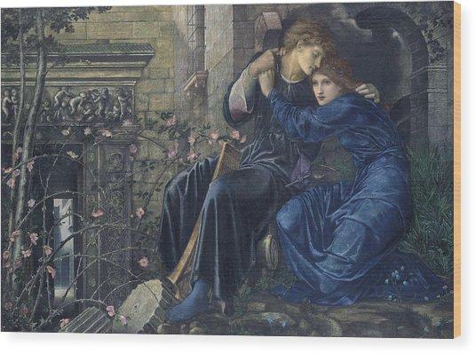 Love Among The Ruins Wood Print