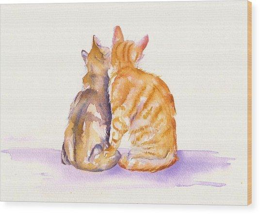 Love Is... Wood Print