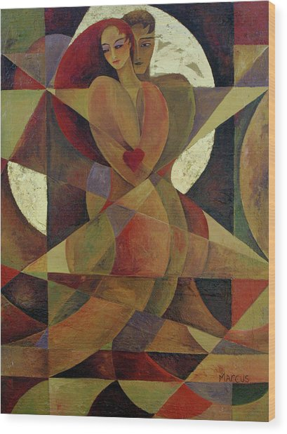 Love Light 1 Wood Print by Leslie Marcus