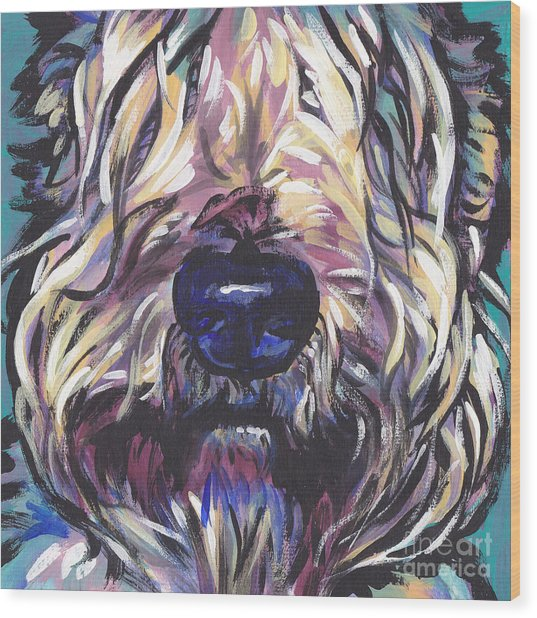 Love My Wheatie Wood Print