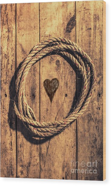 Love Of The Sea  Wood Print