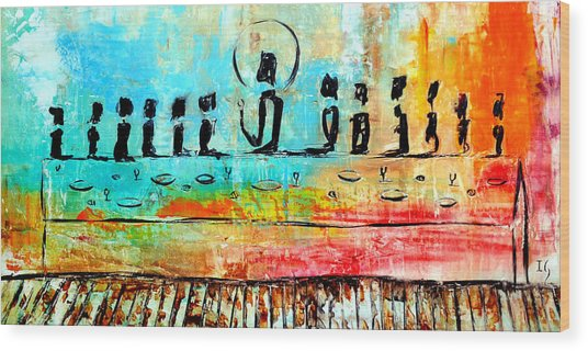 Love One Another IIl Wood Print