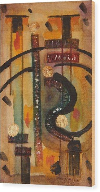 Love Song Wood Print by Dan Earle