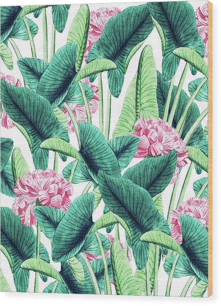 Lovely Botanical Wood Print