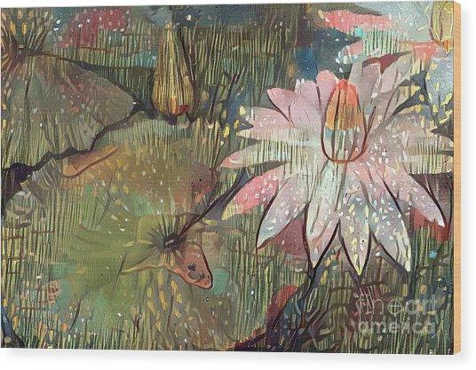 Lovely Waterlilies 4 Wood Print