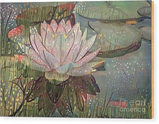 Lovely Waterlilies 5 Wood Print