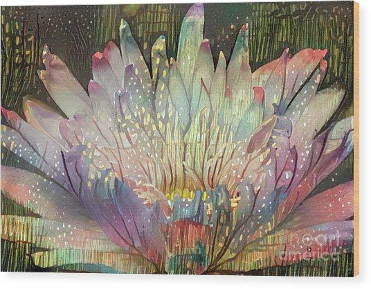 Lovely Waterlilies 6 Wood Print