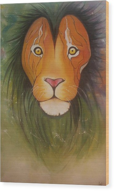 Lovelylion Wood Print