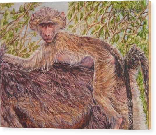 Low Rider Wood Print