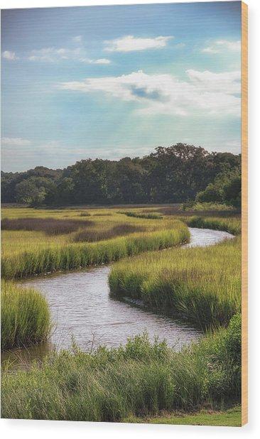 Lowcountry Creek Wood Print