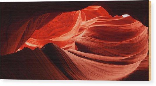 Lower Antelope Canyon 2 Wood Print