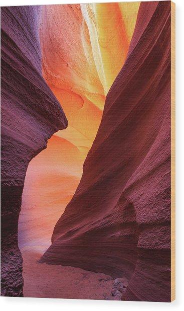 Lower Antelope Canyon Wood Print