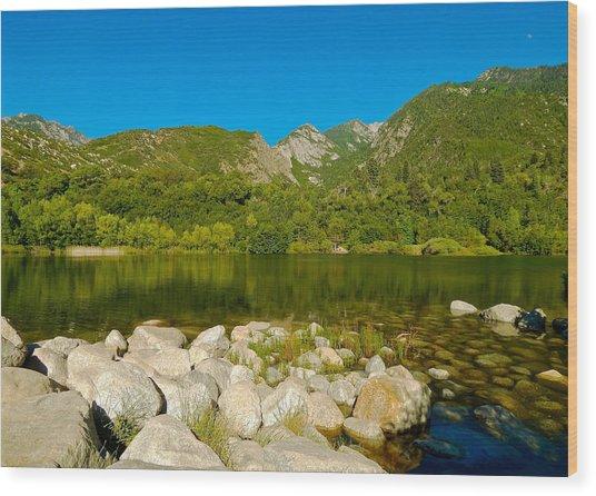 Lower Bells Canyon Reservoir Wood Print