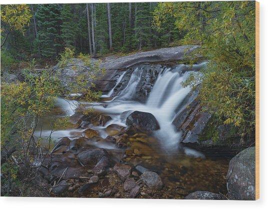 Lower Copeland Falls Wood Print