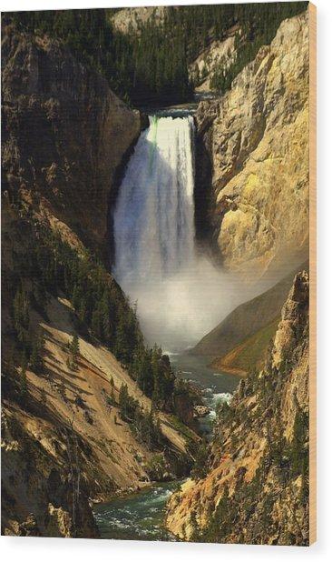 Lower Falls 2 Wood Print