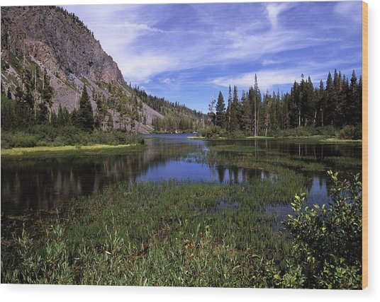 Lower Twin Lakes Wood Print
