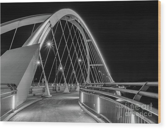 Lowry Avenue Bridge Wood Print