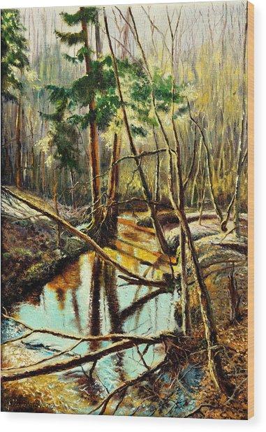 Lubianka-1- River Wood Print