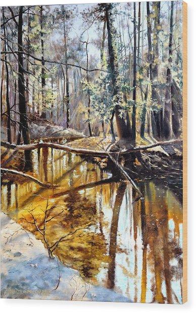 Lubianka-2-river Wood Print