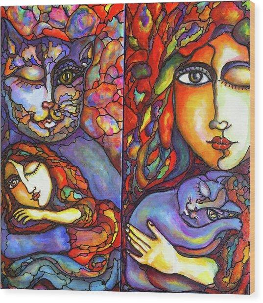 Lucid Dreams Wood Print