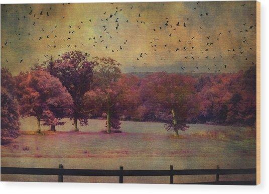 Lucid Ehereal Dream Wood Print