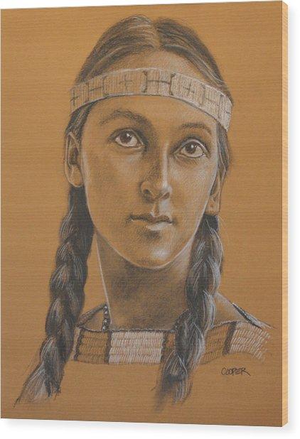 Lucille Dakota Wood Print