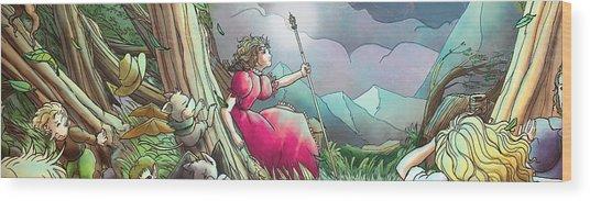Lucinda  Wood Print