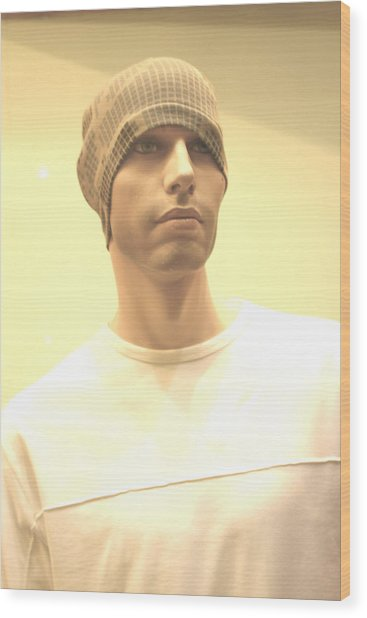 Luke Wood Print by Jez C Self