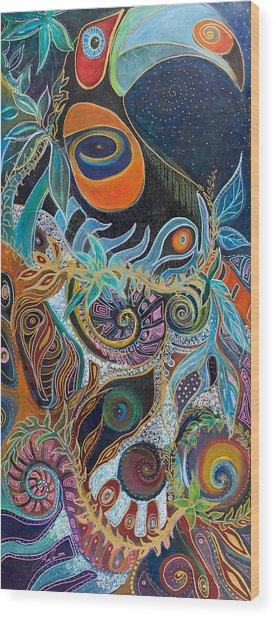 Luminous Wood Print