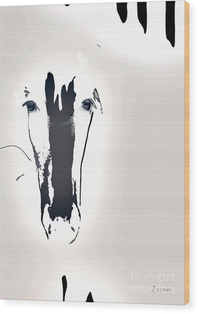 Lungta Windhorse No.1 Concept Wood Print