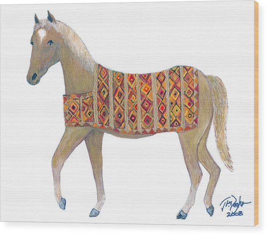 Luri Pony Wood Print