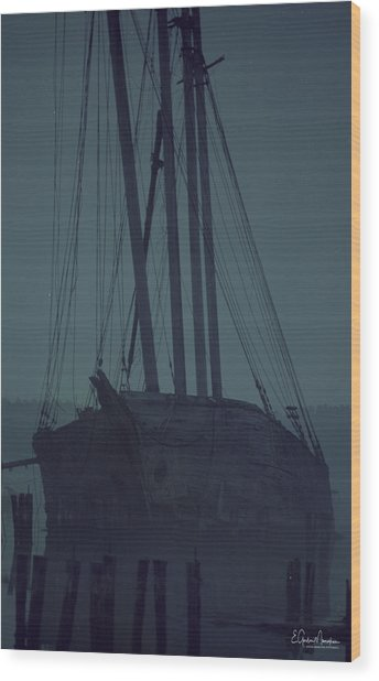 Luther Little Wood Print