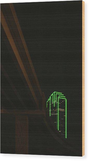 Lux Noir Wood Print