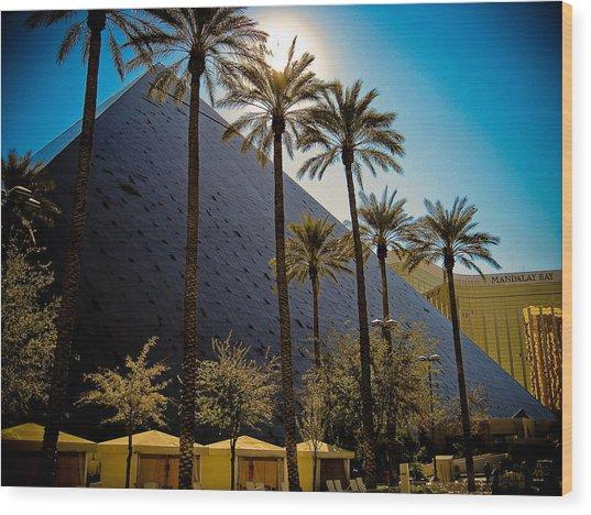 Luxor Las Vegas Wood Print by Patrick  Flynn