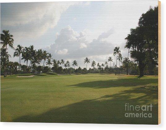 Lyford Cay Golf Club The Bahamas Wood Print