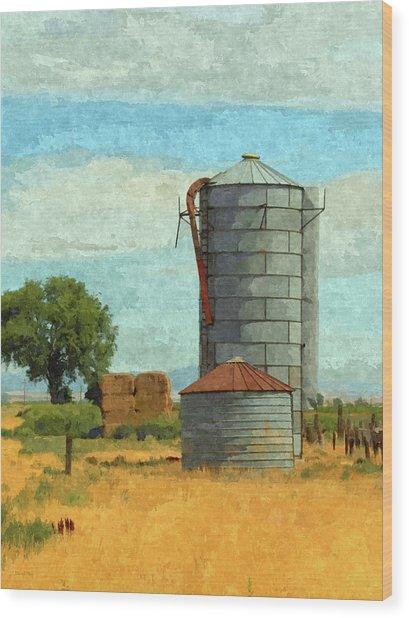 Lyndyll Farm Wood Print